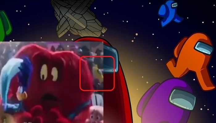 Among us in space jam